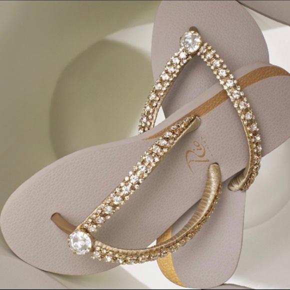 8c42017c3 Rio Custom New Women s Flip Flop Diamond Sandals